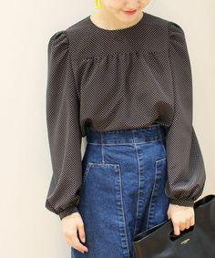 772d89162 シャツ・ブラウス Chiffon Blouses, Refashion, Mini Skirts, Skirts, Shop Class,