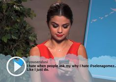 Jimmy Kimmel Live Mean Tweets Music Edition Video.....this was actually funny
