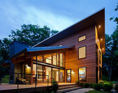 Trapezoidal Pigeon Creek Residence In Western Michigan By Lucid  Architecture   Home Decor And Design