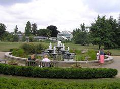 Cambridge University, Cambridge England - Botanical Gardens