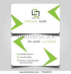 Modern Purple White Black Grey Theme Of Creative Business Card And