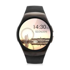 Victoria Vault Smart Watch Micro SIM Card Pedometer Heart Rate Monitor Sedentary Reminder Sleep Monitor Call/SMS Reminder for iOS and Android Phone Main Functions 1. Bluetooth Function With bluetooth