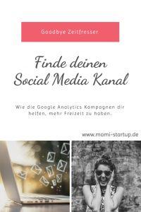 Finde deinen Social Media Kanal und verbanne deine Zeitfresser mit dem Google URL Builder Tool ♥ www.mami-startup.de