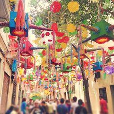 Festa Major de Gràcia 2014 - Barcelona, Spain