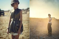 Zendaya Coleman: Military Chic For Teen Vogue | Papiki Atelier