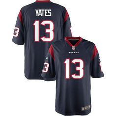 ... NFL Pinterest T.J. Yates Houston Texans Nike Youth Team Color Game  Jersey - Navy Blue Nike Texans 13 ... dba64f3c5