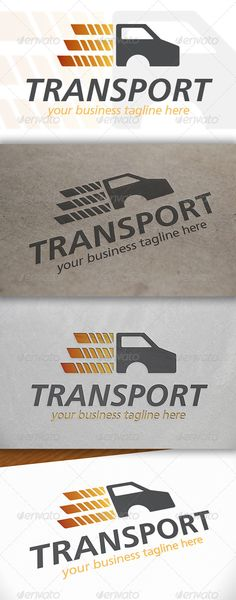 Truck Transport Logo — Vector EPS #pack #van travel • Available here → https://graphicriver.net/item/truck-transport-logo/6642596?ref=pxcr