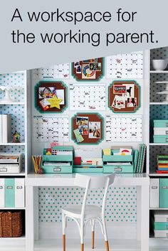 Juggling PTA meetings and project status reports? Customizable products from Office by Martha Stewart™ make it easy to organize your busy schedule and your workspace. Design your home office with this stylish collection, available exclusively at Staples. Office Supply Organization, Wall Organization, Desk Areas, My New Room, Sticky Notes, Getting Organized, Organized Desk, Decoration, Office Decor