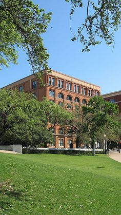 The Book Depository in Dallas, Texas, where Lee Harvey Oswald allegedly shot President John Kennedy as his motorcade was passing in front of the building. I've been to the museum on the sixth floor & it's well worth your time if you're ever in Dallas.