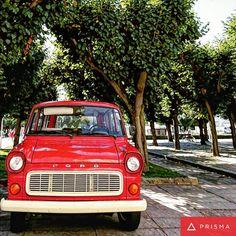 Red car #prisma #photo #photography