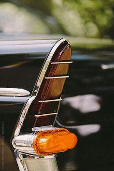closeup of classic luxury car by Alexey Kuzma for Stocksy United Vintage Cars, Antique Cars, Car Headlights, Hood Ornaments, Us Cars, Automotive Design, Tail Light, Car Detailing, Light Art