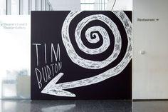 Tim Burton, Exhibition Design at MoMA