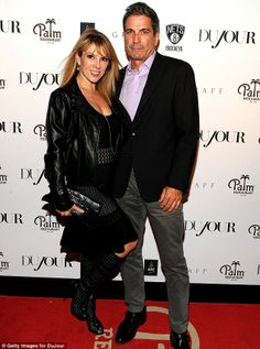 Done: Real Housewives Of New York stars Ramona and Mario Singer, seen here in October, have separated, according to UsWeekly