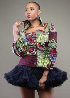 Efe-shine Jacket (zuvaa.com : global marketplace for african design)