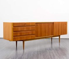 High-quality 1960s sideboard, cherrywood - -