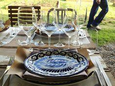 Anfora dinnerware. Rona glassware. For restaurants. From Steelite.