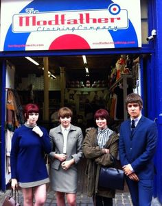 Modfather Clothing of Camden London. Great shop for Mod Clothing and accessories for Mods, Scooterists and celebrities. More at the British Subcultures. Ska Punk, Mod Scooter, Swinging London, Carnaby Street, Youth Culture, Pop Culture, Britpop, 60s Mod, Mens Trends