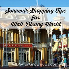 Souvenir Shopping Tips for Walt Disney World