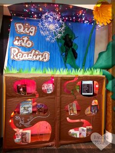 Cute little book display