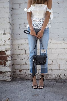 aimee_song_of_style_white_lace_top_ripped_jeans_raye_sandals