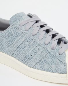 Image 3 of adidas Originals Superstar 80's Snake Print Trainers