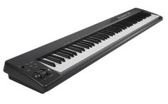 Alesis Q88 USB MIDI Keyboard Controller - New Express yourself on all 7 octaves with this sleek 88-note USB MIDI controller. Plug in and start performing with the included Ableton Live Lite software.
