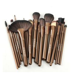 This essential brush set gives you all the tools you need to apply makeup like a pro.My Makeup professional brushes are hand-sculpted and assembled using the finest quality materials.In-Stock and Ships within 24-hours  Fast Delivery - Within 2-4 business days 96% reviewers recommend this product 100% Money BackGuarantee  Set Includes:  Large Fan-shaped Brush Powder Brush Blush Brush Contour Blending Brush Foundation Brush Highlight Brush Bronzer Brush Large Flat Shadow Brush Large-sized…
