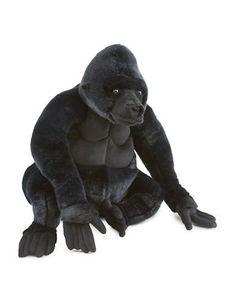 Melissa & Doug Plush Gorilla  Black