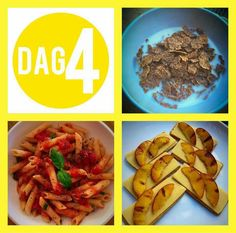 Dag 4 Gluten Free Recipes, Diet Recipes, Healthy Recipes, 28 Dae Dieet, Dieet Plan, 28 Days, Diet Meals, Health Eating, Week Diet