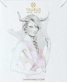 taurus ▵ kelly smith (illustration) samantha wills (jewelry design)