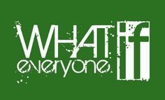 Sticker design by Kelly Conklin for What If Everyone
