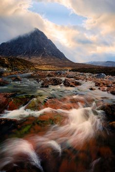 Buachaille Etive Mòr in Ballachulish, Scotland. #Scotland