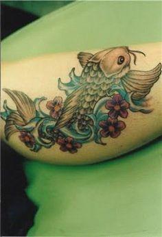 ... Tattoos | Tattoos | Pinterest | Tattoo on leg We and Koi fish tattoo