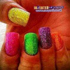 IMs by Jennifer Glass:  Instagram photo by invertednailsystems - http://instagram.com/p/1tFGj1BGEw/  IMs from www.easynail.co.uk   Acrylic powders from www.thenailartist.co.uk   #Invertedmoulds #enuk #ims #nails #nailart #acrylicnails #nailporn #nailgasm