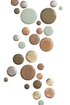 Sandy beige: trench coat khaki bronze and army green: The Blockbuster Fall Nail Guide #refinery29