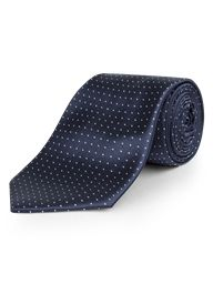 Scott & Taylor Navy Pin Dot Tie Was: £10.00 Now £7.00 #SuitsDirect #Branded