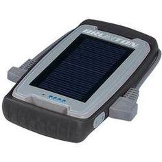 Brunton Freedom 2,200 mAh Solar Panel Power Charger Black