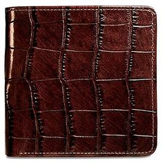 Jack Georges Croco Collection Hipster Mens WalletBrown     You can find  more details by visiting the image link. Note  It s an affiliate link to  Amazon   ... 7433c7c160257
