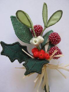 Christmas berries - Tutor Shelley Cox