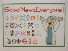 Good News. Everyone A Futurama Inspired Alien by andthenshewaslike, $8.00