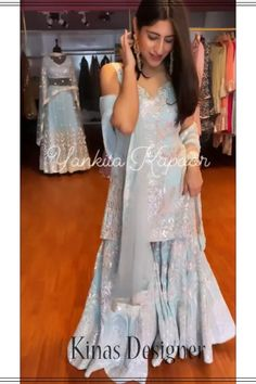 --->Kinas Designer is your one-stop shop for all types of Bridal Wear Collection. --->For more information contact us (Call/Whatsapp): +91 78028 85280 #lehenga #bridallehenga #weddinglenega #designerlehenga #lehengacholi #indianwedding #indianfashion #indianbride #weddingdress #bridalwear #bridal #indianwear#anarkalilehenga #bride #instafashion #style #traditionallehenga#india #sabyasanchi #manishmalhotra #handworklehenga Pakistani Dresses Party, Party Sarees, Pakistani Dress Design, Indian Dresses, Designer Sarees Online, Designer Dresses, Sharara Suit, Salwar Kameez, Churidar Suits