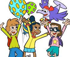 Cyberchase themed birthday party by PBS