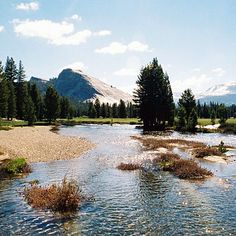 A perfect day in Tuolumne Meadows, June - Great photos from around the West - Sunset Mobile National Parks Usa, Yosemite National Park, Beautiful Places In California, Vacation Images, Tuolumne Meadows, Us Travel Destinations, Closer To Nature, Great Photos, The Great Outdoors