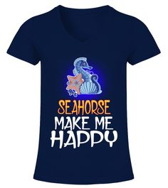 "# SEAHORSE Animals Lover .  HOW TO ORDER:1. Select the style and color you want2. Click ""Buy it now""3. Select size and quantity4. Enter shipping and billing information5. Done! Simple as that!TIPS: Buy 2 or more to save shipping cost!This is printable if you purchase only one piece. so don't worry, you will get yours.Guaranteed safe and secure checkout via: Paypal 