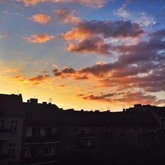 Sunset in #berlin.