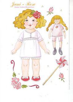 Rose Paper Dolls