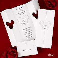 Disney Wedding Invitations and Disney Invitations from Invitation Discounters Disney Wedding Invitations, Sweet 16 Invitations, Rustic Invitations, Wedding Invitation Wording, Wedding Disney, Invites, Disney Weddings, Invitation Ideas, Card Box Wedding