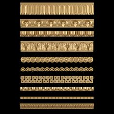 print model Decorative Moldings Set 02 architectural, formats include STL, ready for animation and other projects Decorative Mouldings, 3d Projects, Model Homes, Wood Carving, Textile Design, Concept Art, 3d Printing, Moldings, Mardi Gras