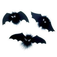 diy hallowen diy boa bats - Halloween Bats Crafts