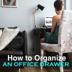 How to Organize a Notebook for Work | The Order Expert Office Organisation, Notebook Organization, Onenote Template, Correction Fluid, Appointment Calendar, Make A Plan, Desk With Drawers, Tidy Up, Recycling Bins